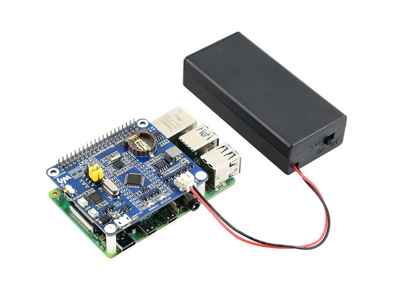 Power Management HAT for Raspberry Pi - Application Example