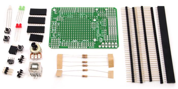Arduino Protoshield Kit