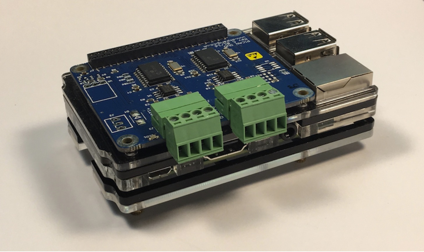 Raspberry Pi 3 System With Dual CAN Bus Interface