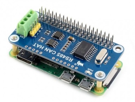 Raspberry Pi Zero System With CAN Bus Plus RS485 HAT