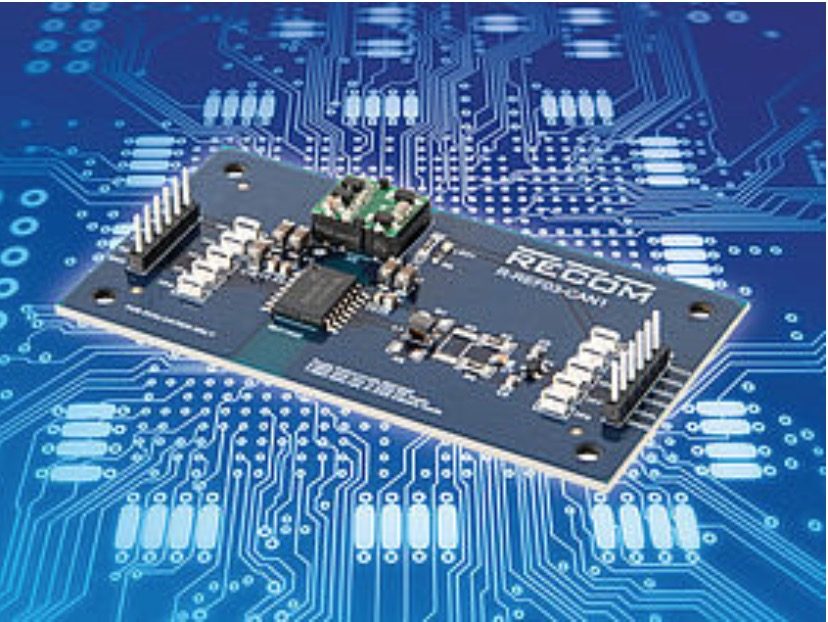 Recom R-REF03-CAN1 Reference board with galvanic-isolated CAN Bus transceiver