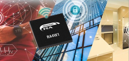 Renesas Electronics Corporation RA4W1 MCU With CAN Bus Port