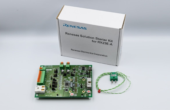 Renesas RX23E-A Analog front end mounted 32-bit microcontroller ideal for high precision sensing, test and measurement equipment