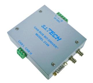 S.I. Tech Model 2149 Fiber-optic converter for CAN Bus
