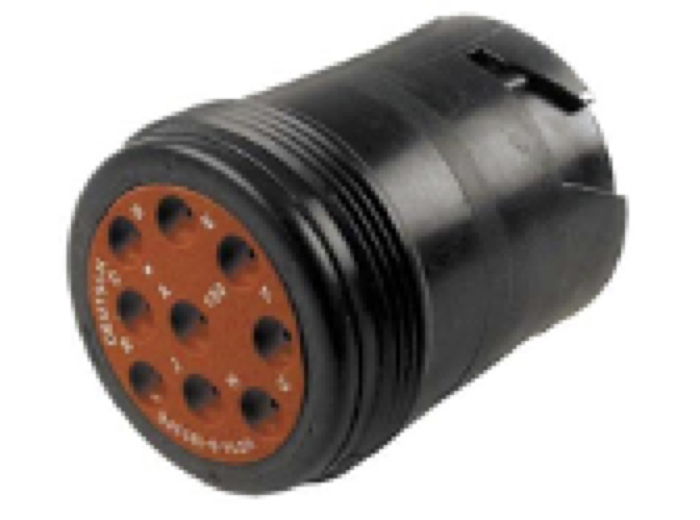 SAE J1939/13 Off-Board Diagnostic Connector HD10-9–1939