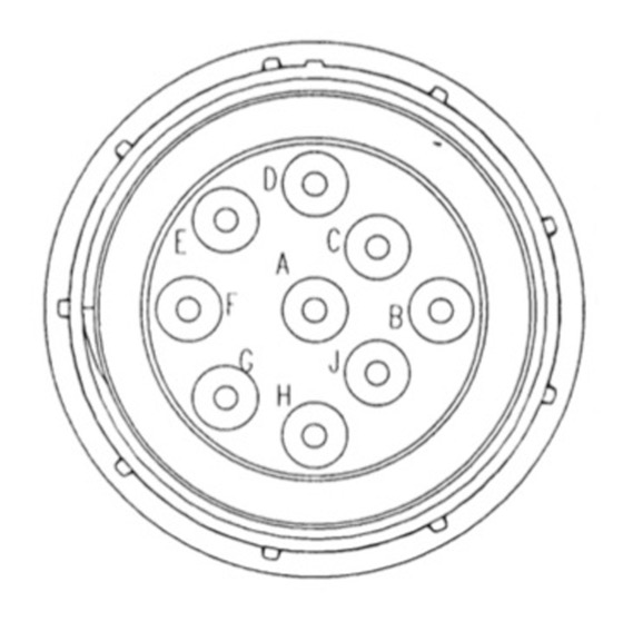 SAE J1939-13 Off-Board Diagnostic Connector - Pin Assignment