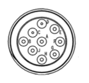 SAE J1939 Connector Pinout