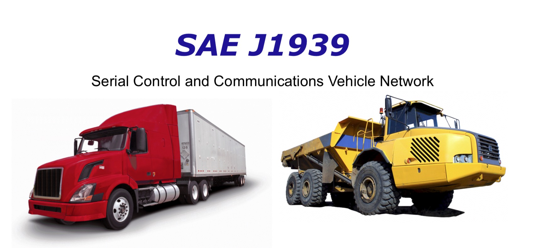 SAE J1939 - Serial Control And Communications Vehicle Network