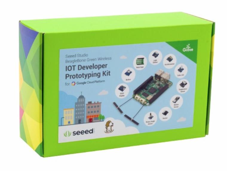 Seeed Studio BeagleBone Green Wireless IOT Developer Prototyping Kit for Google Cloud Platform