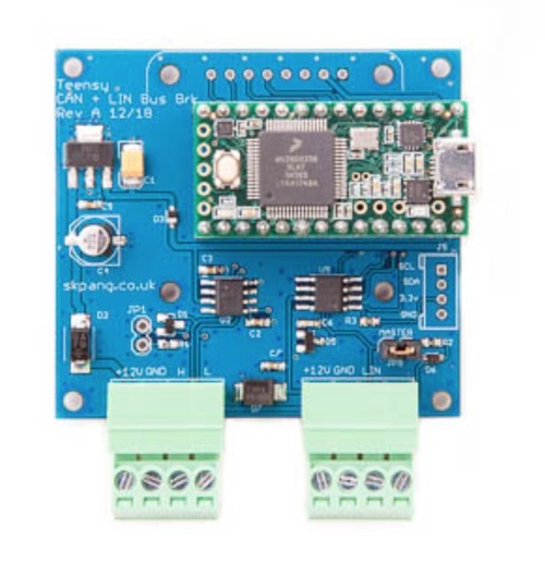 Teensy 3.2 CAN Bus And LIN Bus Breakout Board
