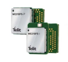 Telit WE3`0F5 - Ultracompact, single-band Wi-Fi and BLE5-hosted module for space-constrained IoT applications