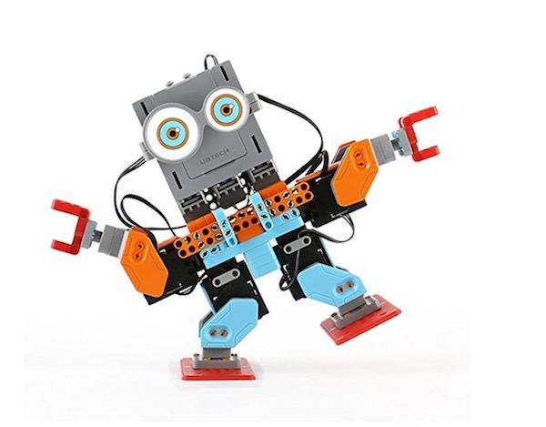Build Your Own DIY Robot With 6 Smooth Motion Robotic Servos