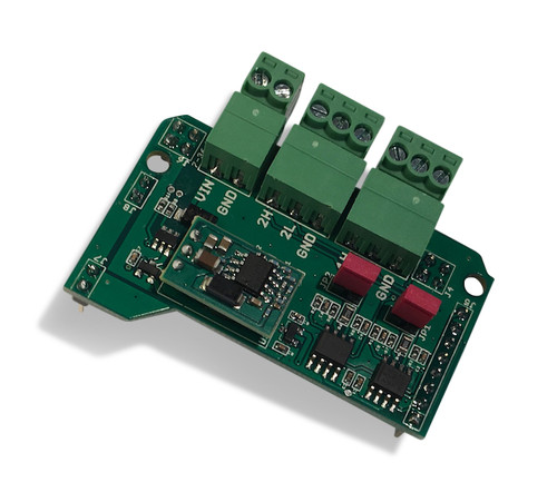 jCOM Extended Dual Can Bus Board for Arduino Due