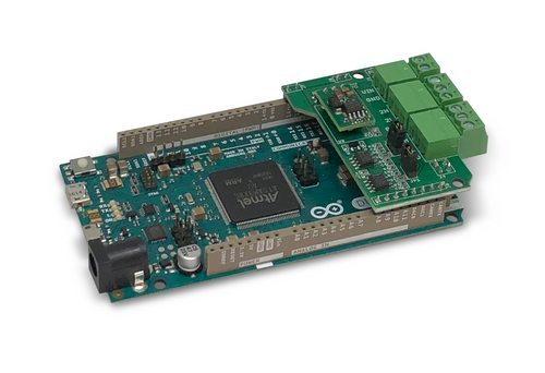 Arduino-Based ECU Development Board With Dual CAN Bus Interface With Extended Power Input Range