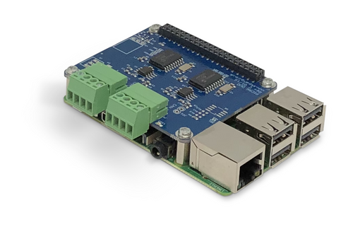 Raspberry Pi 3 B+ System With Dual CAN Bus Interface