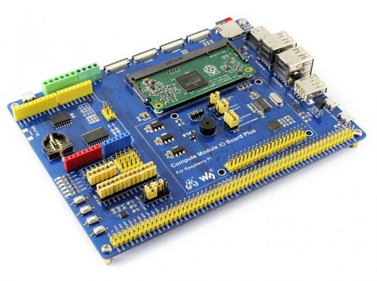 Wondrous Raspberry Pi Io Board With Cm3 Compute Module Wiring Digital Resources Lavecompassionincorg