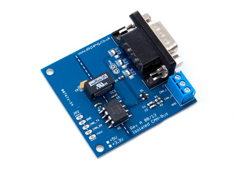 Isolated CAN Bus Breakout Board 3.3 VDC