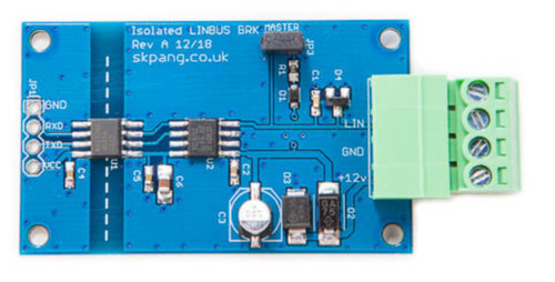 Isolated LIN-Bus Breakout Board