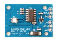 LIN-Bus Slave RGB LED Breakout Board