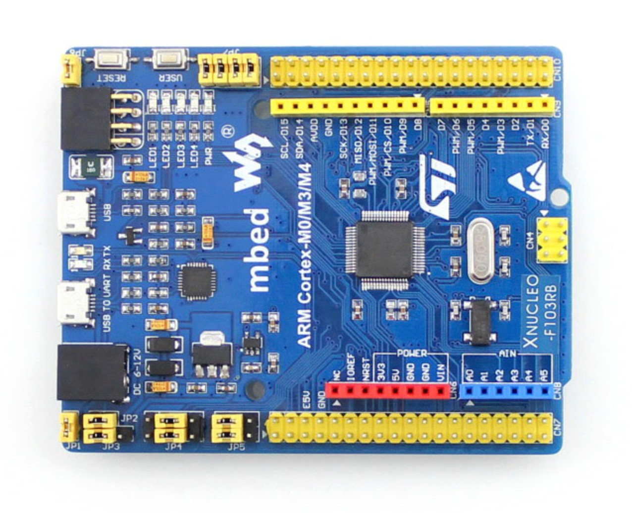 STM32 XNUCLEO Development Kit With IO Shield And Sensors Pack