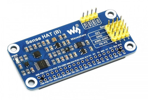 Sense HAT (B) for Raspberry Pi, Multi Powerful Sensors