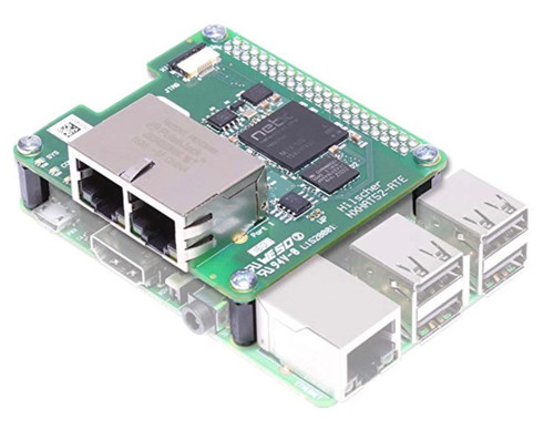 netHAT 52-RTE - PROFINET, EtherNet/IP and EtherCAT HAT For Raspberry Pi