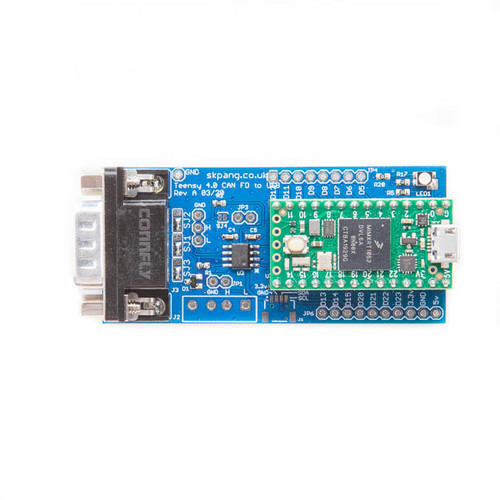 Teensy 4.0 CAN FD to USB Converter