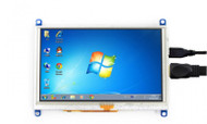 Five Inch Resistive Touch Screen LCD, 800x480, HDMI Interface For Raspberry Pi