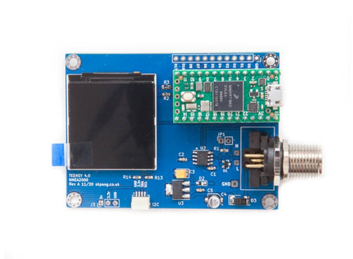 Teensy 4.0 With NMEA 2000 Connector And 240 x 240 IPS LCD