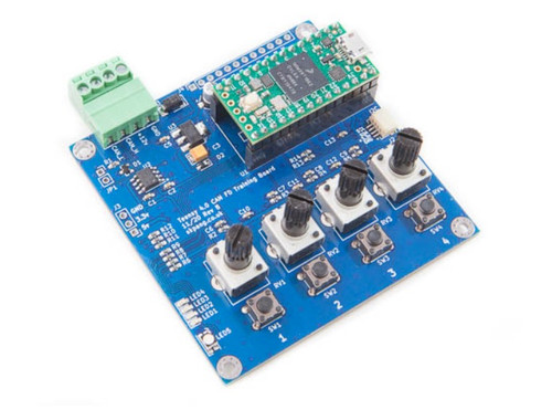 Teensy 4.0 CAN Bus And CAN FD Training Board