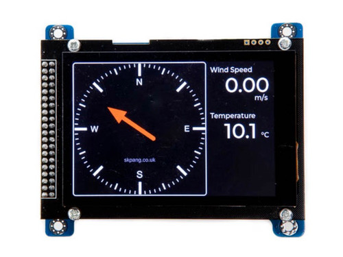 "Teensy 4.0 NMEA 2000 Board with 480x320 3.5"" Touch LCD"