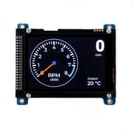 "Teensy 4.0 Classic CAN, CAN FD Board with 480x320 3.5"" Touch LCD"