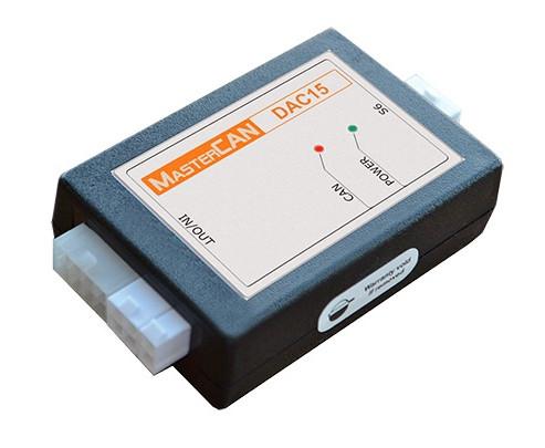MasterCAN DAC15 - SAE J1939 To Analog Signal Converter