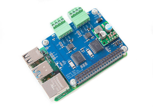 Raspberry Pi 4 With PICAN Dual CAN Bus HAT