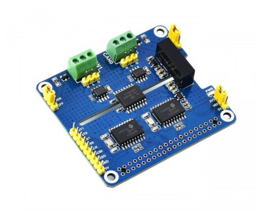 Dual Isolated CAN Bus HAT for Raspberry Pi