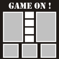 Game On! - 12x12 Overlay