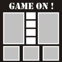 Game On! - 12x12 Overlay