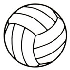 "Volleyball - Single large 3 1/2"" diameter"