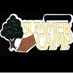 Summer Camp 6 color die cut