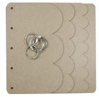 Waterfall Planner Chipboard Album
