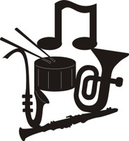 Musical Instruments - Die Cut