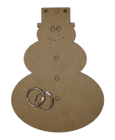 Snowman Chipboard Album