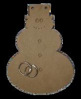 Snowman Chipboard Album