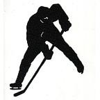 Hockey Player Laser Design