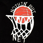 Nothin' But Net Basketball Theme Laser Design