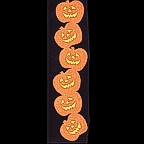 Pumpkin Vertical Title Strip - GLITTER!