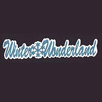 Winter Wonderland Title Strip - Glitter!