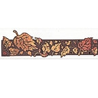 Fall Leaves Title Strip - 3 Layers of detail!