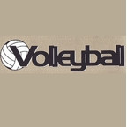 Volleyball Title Strip
