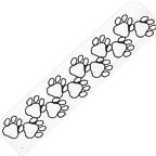 Dog Paws Title Strip